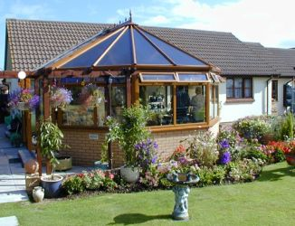 Victorian Glass Roof Conservatory in Barnstaple by Exmoor Fascias
